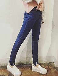 assinar na Primavera de 2017 mulheres&# 39; s pés era pacote fino buraco cochilo apertado lápis calças jeans nett