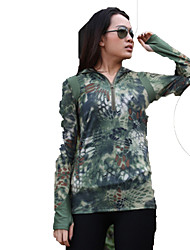 Men's Women's Long Sleeves Hunting T-shirt Quick Dry Classic Top for Hunting Climbing Leisure Sports S M L