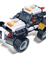 Stavební bloky Auta na zadní natahování Autíčka Závodní auto Hračky Auto 128 Pieces Dárek