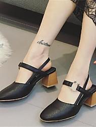 Loafers para mulheres&Slip-ons conforto couro de patente casual salto baixo