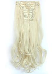 Недорогие -На клипсе синтетический Наращивание волос Наращивание волос