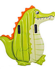 cheap -Pool Lounger Toys Square Crocodile Animal PVC Children's Pieces