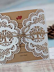 economico -Piegato a cancello Inviti di nozze-Cartoline per festa di fidanzamento Bachelorette Cards Partito Invito Cards Biglietti di