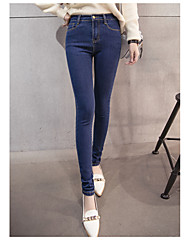 cheap -Women's Classic & Timeless Skinny Pants - Solid Color
