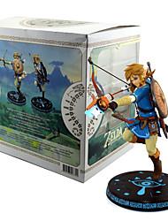 Anime Action-Figuren Inspiriert von The Legend of Zelda Link PVC 32 CM Modell Spielzeug Puppe Spielzeug