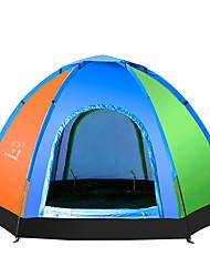 LINGNIU® 5-8 persone Tenda Igloo da spiaggia Singolo Tenda da campeggio Una camera Tenda ripiegabile Ben ventilato Portatile Resistente