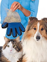 1PCS Pet Grooming Dogs Glove Shedding Hairs Stick Making Pets Hair Cleanup