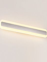 cheap -Modern / Contemporary Bathroom Lighting Metal Wall Light IP67 110-120V / 220-240V 14W