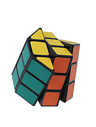 cheap -Rubik's Cube Octagonal Column 3*3*3 Smooth Speed Cube Magic Cube Puzzle Cube Smooth Sticker Cylindrical Gift