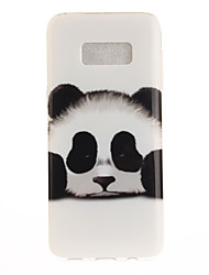 cheap -For Samsung Galaxy S8 Plus S8 Case Cover Panda Pattern HD Painted TPU Material IMD Process Phone Case S7 edge S7 S6 edge S6