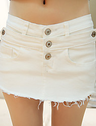 Sign the new spring and summer women's denim shorts culottes Korean tidal fat mm shorts hot pants anti emptied