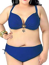 Womens Plus Size Vintage Charming SwimSwimsuit Bikini(XL-5XL)