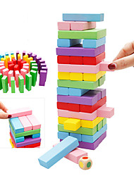 cheap -Building Blocks Stacking Game Stacking Tumbling Tower Educational Toy Fun Classic Kid's Toy Gift
