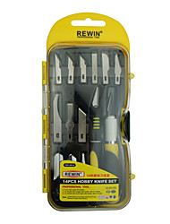 REWIN TOOL 14PCS Hobby Knife SET