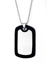Men's Pendant Necklaces Jewelry Jewelry Synthetic Gemstones Alloy Dangling Style Natural Personalized Euramerican Jewelry For Party Daily