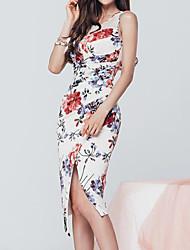 Vestido 2016 do vestido do quadril do pacote da dobra da gaze 2016 das mulheres novas do verão das senhoras sexy novas da perspectiva