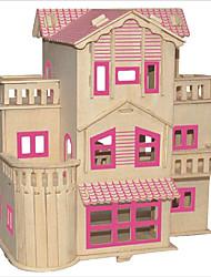 Недорогие -Конструкторы / 3D пазлы / Пазлы Знаменитое здание / Китайская архитектура / Лошадь Своими руками 1pcs Детские Универсальные Подарок