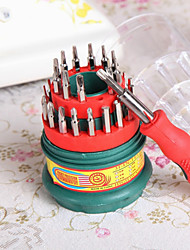 Pagoda Type Stainless Screwdrivers Set 31 in 1 Multi-purpose Precision Magnetic Repair Tools