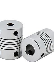 baratos -3d acessórios de impressora acoplamentos 5 * 5acoplamentos flexíveis DIY Acessórios