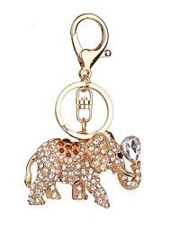 cheap -Key Chain Toys Key Chain Elephant Metal 1 Pieces Unisex Christmas Valentine's Day Gift