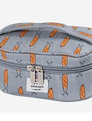 Organizer per valigia Trousse da viaggio Astuccio per trucchi Portatile Contenitori da viaggio per Abbigliamento Nylon / Fantasia floreale
