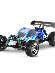 cheap -RC Car WL Toys A959 2.4G Off Road Car High Speed 4WD Drift Car Buggy 1:18 Brush Electric 45 KM/H Remote Control Rechargeable Electric