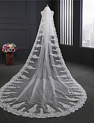 The New Europe With Sequins Lace Lace Veil Bride Drill