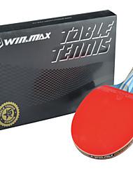 Недорогие -5 Звезд Ping Pang/Настольный теннис Ракетки Ping Pang дерево Длинная рукоятка Перевернутые Прыщи 1 Ракетка