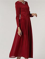 Europe passerelle mousseline de soie robe ronde robe exquise roman specials