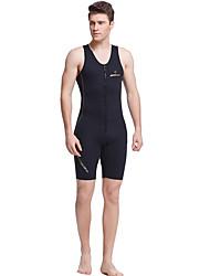 Dive&Sail Pánské Dámské 1,5 mm Krátký neopren Zahřívací Rychleschnoucí Anatomický design Prodyšné Nylon neoprén Diving Suit Bez rukávů