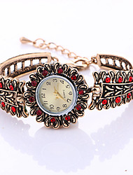cheap -Women Fashion Watch Bracelet Watch Quartz Alloy Band Vintage Charm Cool Casual Unique Creative Gold