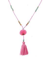 Жен. Ожерелья с подвесками Multi-камень Одинарная цепочка Синтетические драгоценные камни Уникальный дизайн В виде подвески Pоскошные