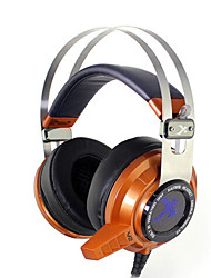 Xiberia V2N 7.1 Gaming Headphones Over Ear LED Light Vibration Stereo Headset Pc Gamer Computer Super Bass Glow Earphones With Mic