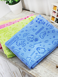 Cat Dog Towel Baths Foldable Yellow Green Blue Blushing Pink