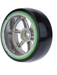 Generale RC Tire Pneumatico RC Auto / Buggy / Camion Verde Gomma Plastica