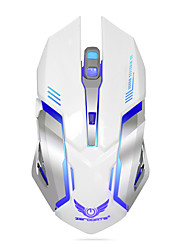 cheap -Rechargeable Wireless Gaming Mouse 7-color Backlight Breath Comfort Gamer Mice for Computer Desktop Laptop NoteBook PC