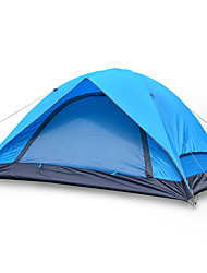 2 persone Tenda Doppio Tenda da campeggio Una camera Tenda ripiegabile Ompermeabile Portatile per Escursionismo Campeggio Fibra di vetro