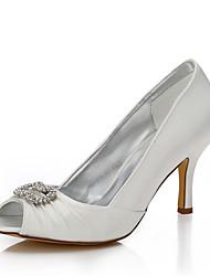 Da donna-scarpe da sposa-Matrimonio Tempo libero Ufficio e lavoro Formale Serata e festa-Comoda Club Shoes Scarpe tingibili-A stiletto-