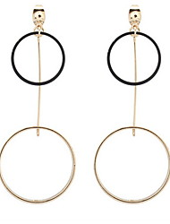 Dámské Visací náušnice Náušnice - Kruhy Šperky Základní design Kruhy Jedinečný design Logo Visací Geometrický přátelství turečtina Módní