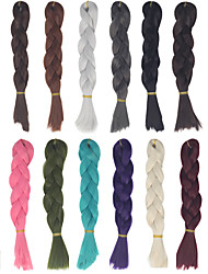 cheap -Synthetic Hair Hair Extension Straight Classic Hair weave Daily High Quality