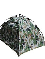 2 persone Tenda Doppio Tenda da campeggio Una camera Tenda automatica Anti-polvere per Escursionismo Campeggio 1500-2000 mm Fibra di