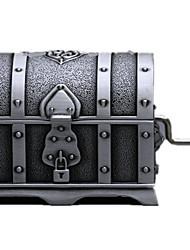 Недорогие -музыкальная шкатулка Пираты Пираты Металл Универсальные Игрушки Подарок
