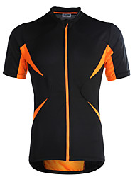 cheap -Jaggad Cycling Jersey Men's Women's Unisex Short Sleeves Bike Jersey Top Quick Dry Breathable Polyester Elastane Patchwork Summer