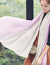 Spring of 2017 Gradient Printing Cotton and Linen Retro Scarf Shawl Thin Long Rectangle Women's Beach UV Sunscreen Bohemia