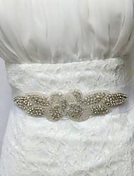 Недорогие -тафты атласные свадебные наклейки с аксессуарами из горного хрусталя элегантный стиль
