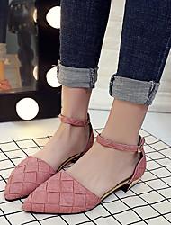 Da donna-Tacchi-Formale Casual-Comoda Club Shoes-Quadrato-Finta pelle-