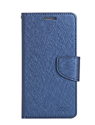 cheap -Case For Xiaomi Card Holder Wallet with Stand Flip Full Body Cases Solid Color Hard PU Leather for Xiaomi Redmi Note 4 Xiaomi Redmi Note