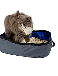 Cat Carrier & Travel Backpack Training Pooper Scoopers Diapers Waterproof Portable Foldable Cute Casual/Daily Cat Litter Box