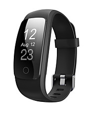 cheap -Smart Bracelet iOS / Android Heart Rate Monitor / Pedometers / Calories Burned / Long Standby / Hands-Free Calls Activity Tracker / Sleep Tracker / Sedentary Reminder / Find My Device / Touch Screen