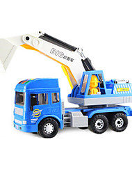 cheap -Toy Cars Construction Vehicle Excavator Toys Extra Large Excavating Machinery ABS Plastic 6 Pieces Kids Unisex Boys Gift